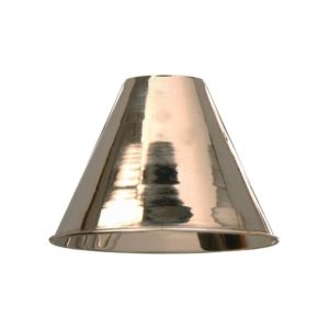 Spun brass shade from Limehouse lighting
