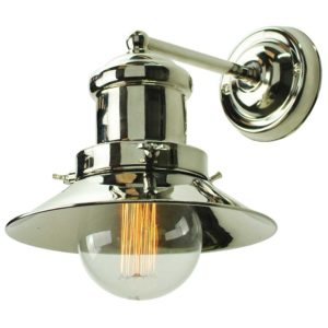 Small Edison single wall light by the limehouse lamp company