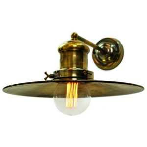 Large Edison single wall light by the limehouse lamp co