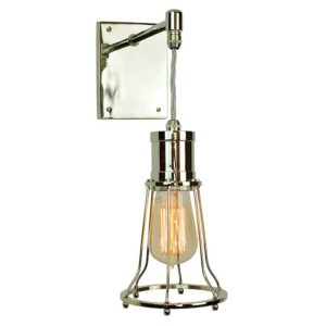 Marconi Adjustable Drop Wall Light by limehouse lamp company