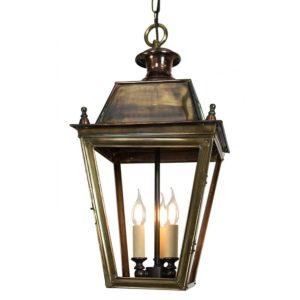 Large Balmoral 3 light Hanging Lantern from Limehouse lighting