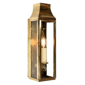 Strathmore Large Slim Wall Light made by the limehouse lamp co