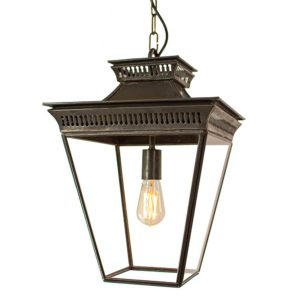 The Pagoda Pendant Medium by the limehouse lamp co
