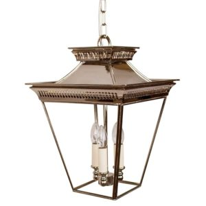 Medium 3 light Pagoda Lantern from Limehouse lighting