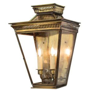 Pagoda Large Flush Lantern from Limehouse lighting