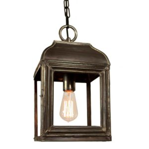 Hemingway Small Hanging Lantern from Limehouse lighting