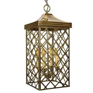 Large Ivy Lantern from Limehouse lighting