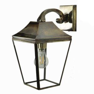 Knightsbridge Overhead Arm Lantern by the limehouse lamp company