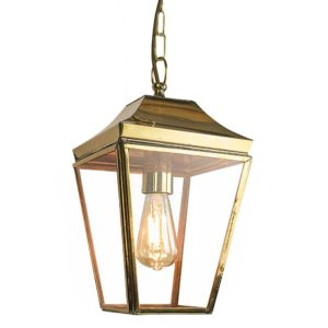Knightsbridge Small Hanging Lantern from Limehouse lighting