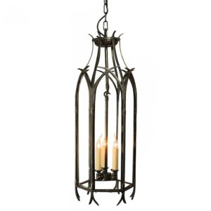 Gothic Large Hanging Lantern from Limehouse lighting