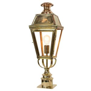 Kensington Short Pillar Light by the limehouse lamp company