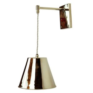 Map Room Adjustable Drop wall light by the limehouse lamp company