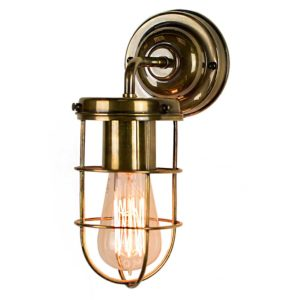 The Cellar wall light by the limehouse lamp co