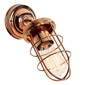 The Cellar angled wall light by the limehouse lamp co