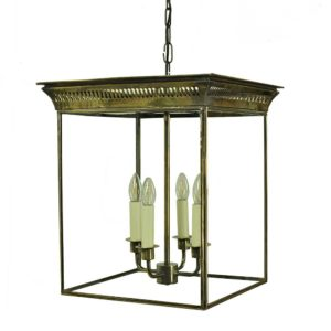 Belgravia Hanging Lantern by the limehouse lamp co