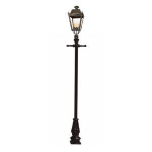 Balmoral Post Mount lantern by the limehouse lamp co